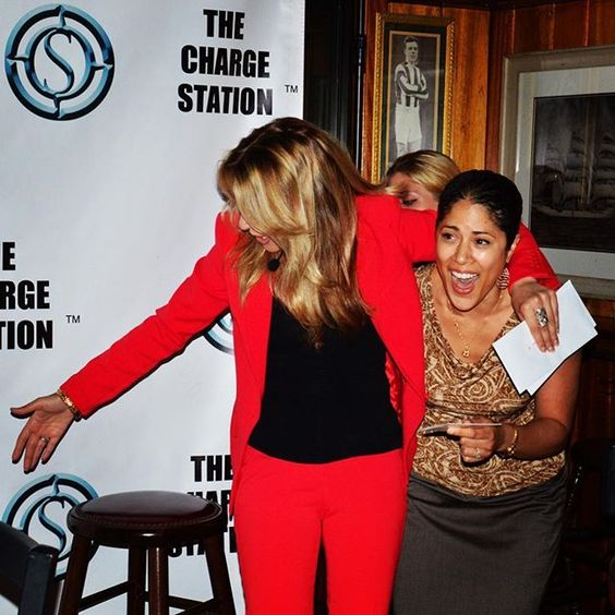 And the winner is...?! 😂 Congrats #malou! 🎉👏🎉 #winning @ #TCS ⚡️✊⚡️ #beempowered #recharge  #igers_philly #thechargestation #power #happyhour #connecting #energymagnets #fun #smile #philly #empowerement #friends #igersphilly #phillysocial #phillyevents #phillyigers #philadelphia #phillygram