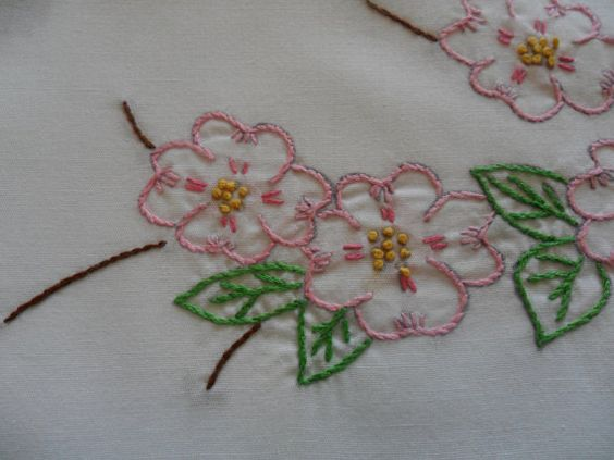 Vintage Standard size white pillowcases by SunnyDayNeedleworks