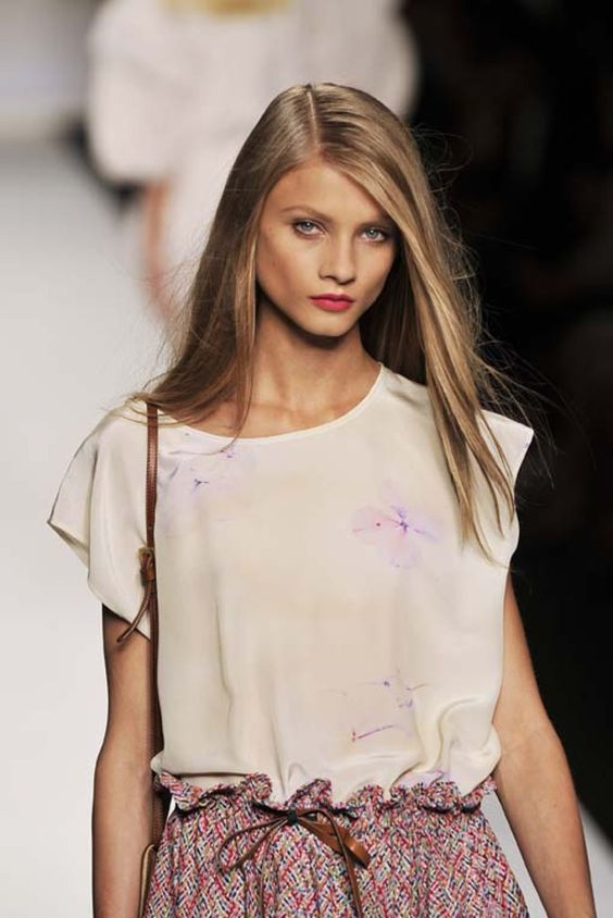 White top at Fendi S/S 11