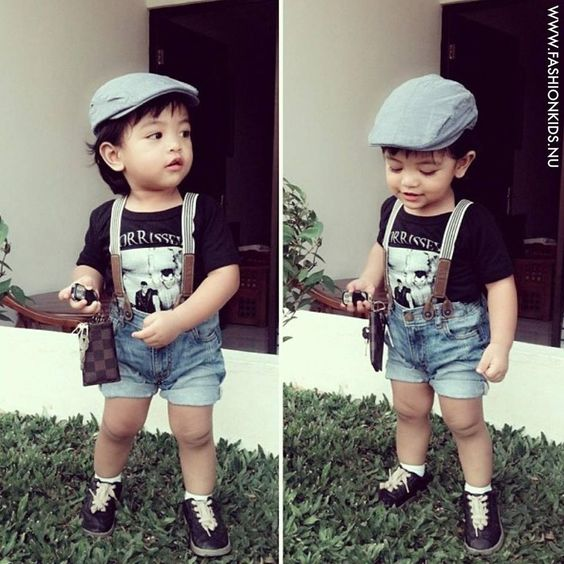 Little boy fashion.
