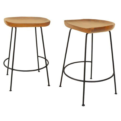 Axelle Bar Counter Stool With Images Counter Stools