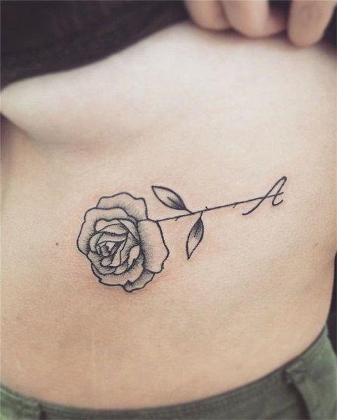 78 Free Tattoo Flash Ar Small Rose Tattoo Tattoo Designs Rose Tattoo Design