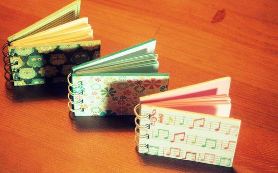 Mini cuadernos de bolsillo, Colección: Despierta tus sentidos (A8)