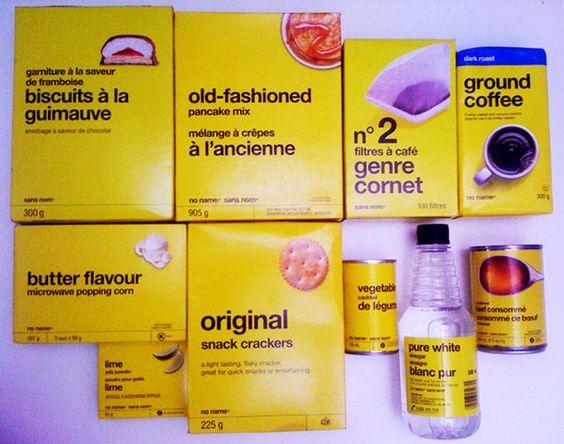NoName Brand Packaging Design
