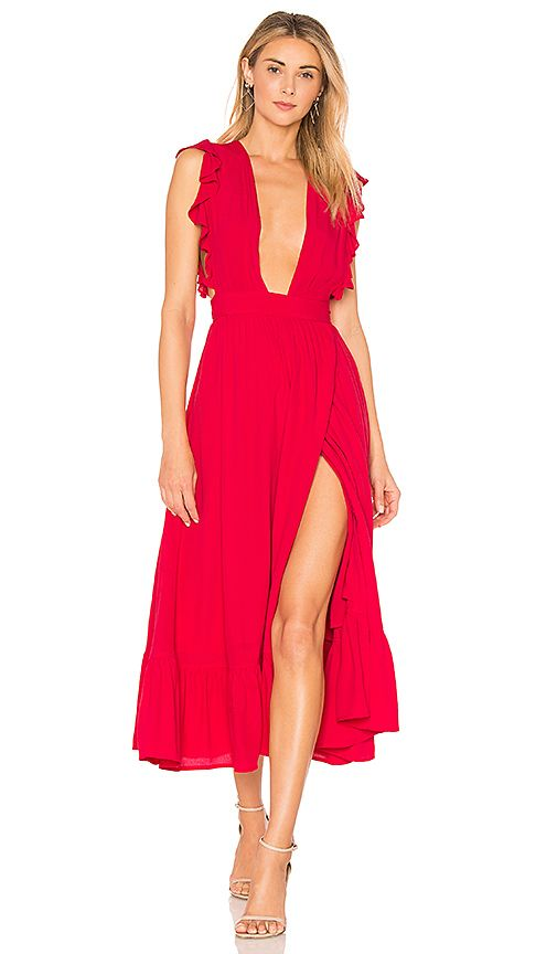 Majorelle Mistwood Dress In Red Revolve Dresses Red dresses for prom, homecoming, and more. pinterest