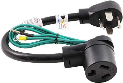 New Ac Works 30 Amp 4 Prong Dryer Wall Outlet Adapter To 3 Prong 30a Dryer Plug Appliances 59 99 Topgetitnow Offers In 2020 Dryer Plug Outlet Adapter Dry Socket