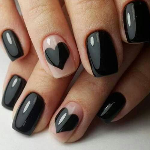Best Valentine S Day Nails 55 Vday Heart Melting Nails With