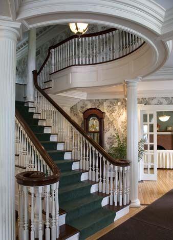 Mooreland Mansion, Kirtland, Ohio - The main entrance and ...