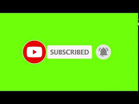 No Copyright Free To Download Green Screen Subscribed720hp Youtube In 2020 Youtube Banner Backgrounds Youtube Logo First Youtube Video Ideas