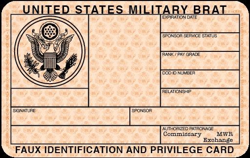 Fake Driver License Template Fake Id Template Generatorus Army Id Card Template Custom Fake Military New State Wi Blank Id Cards Id Card Template Card Template
