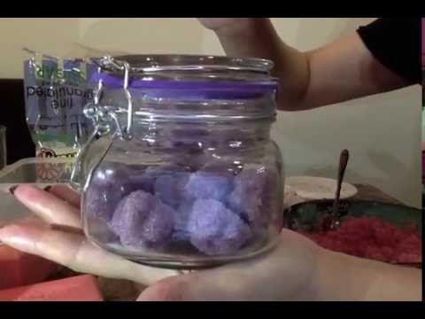 مقشر طبيعي للجسم بالسكر و الخزامة روعة Youtube Mason Jars Jar Mason