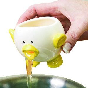 Ceramic Chick Egg White Separator