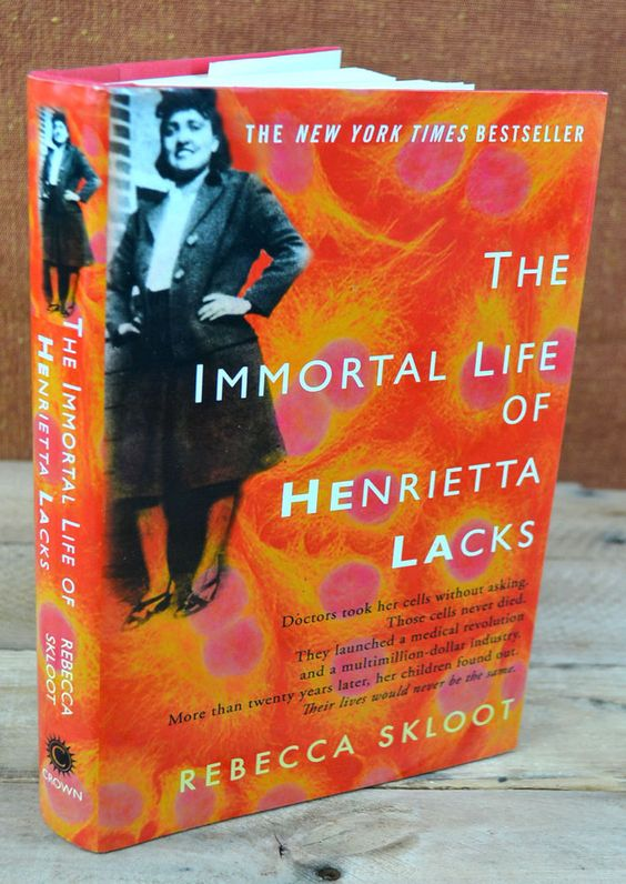 The Immortal Life of Henrietta Lacks by Rebecca Skloot (2010, Hardcover) #hardcover #fiction #book