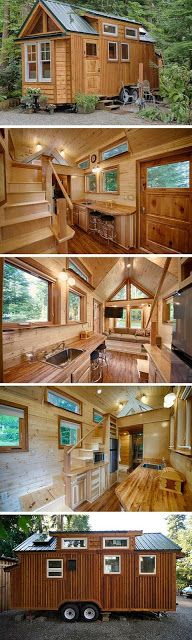 mytinyhousedirectory: Another Favorite :)We like wood, incase you can no...