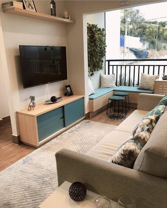 Salas Modernas Pequenas Para Apartamentos