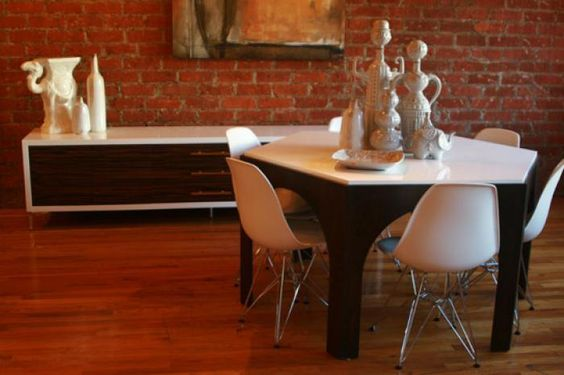 hexagon dining table - Yahoo Image Search Results