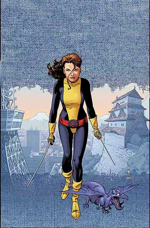 Shadowcat & Lockheed by Paul Smith