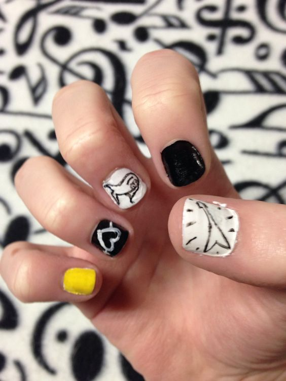 #5SOS #shelookssoperfect #nails