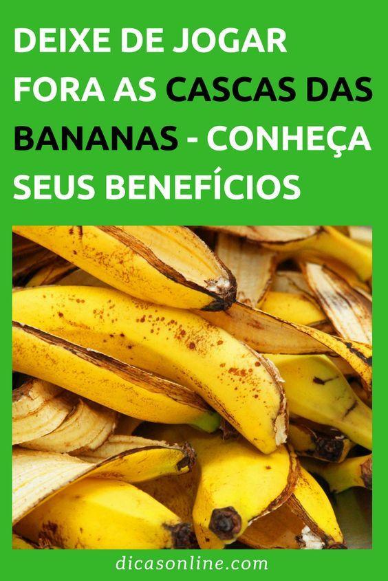Casca De Banana Serve Para Muita Coisa Problemas De Pele