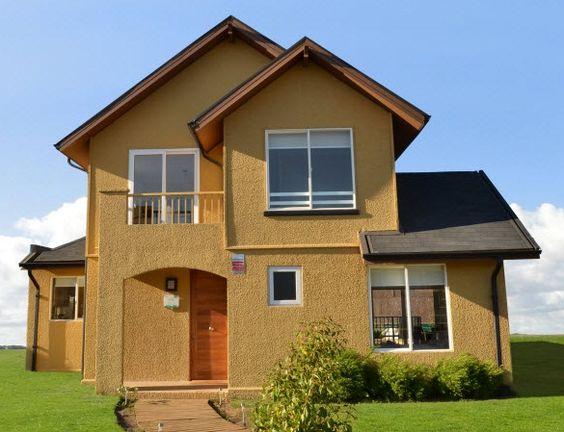 diseos de casa casa de campo m fachada escalera fachadas tipo chalet para casas de casas casas tipo
