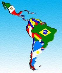 Image result for map of latin america