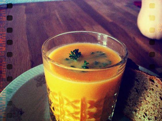 Einfache Kürbissuppe- Pumpkin Soup