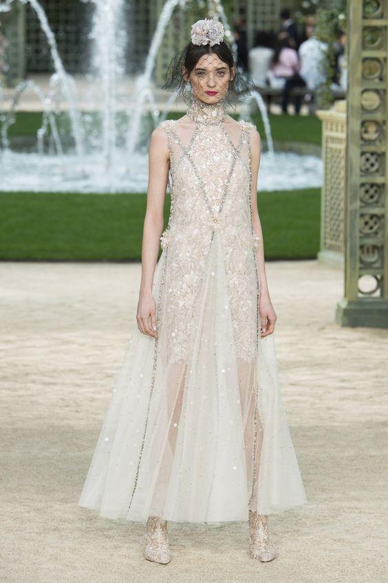 Chanel Spring 2018 Couture Photos