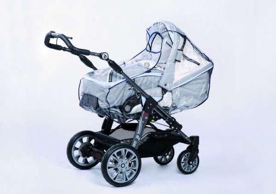 Regenschutz für den Kinderwagen