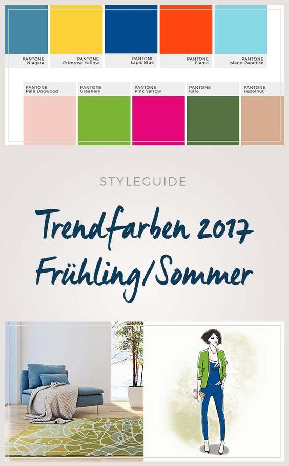 trendfarben 2017 - style deine wohnung mit den trendigen ... - Trendwandfarben
