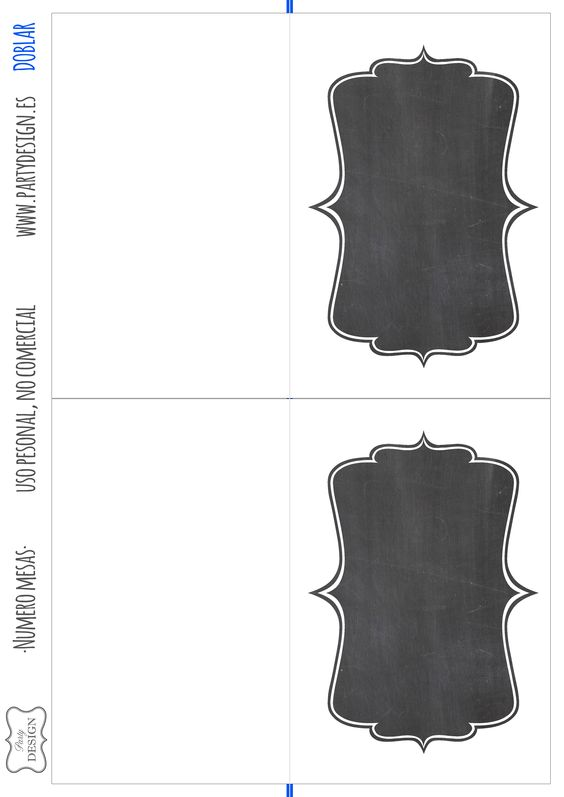 Imprimibles gratis numero mesa boda wedding table numbers printable free