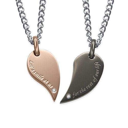 Download 2 Heart Necklace 2istconf Com Friend Necklaces Necklace Set Necklace