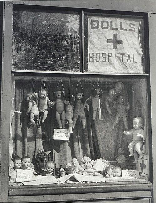 Max Dupain: The Dolls Hospital.