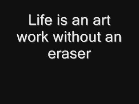 an eraser is not an option