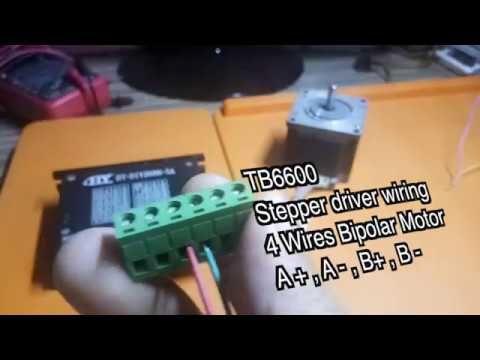 Tb6600 Driver Nema23 Arduino Tutorial Arduino Arduino Programming Programming Tutorial