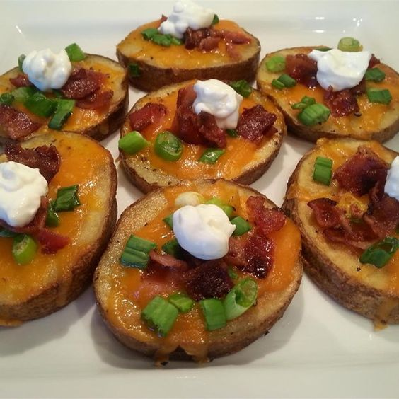 "Cheese and Bacon Potato Rounds | ""These were absolutely divine."""