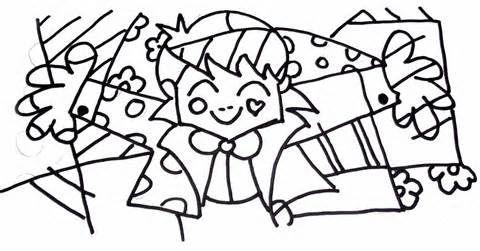 Desenhos De Obras De Romero Britto Para Pintar Colorir Imprimir Romero Britto Moldes E Riscos Obras De Romero Britto Desenhos Do Romero Britto Romero Britto