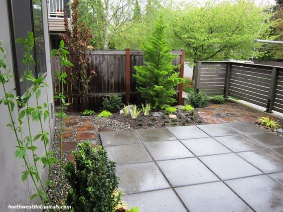 17 best images about townhome gardens gardens for Townhouse landscaping