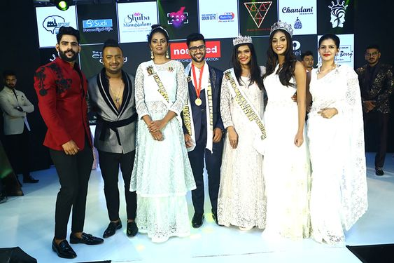 Actor Vijay Antony At MR, MISS & MRS Face of South at Grand Finale of FEM-MAE 2019