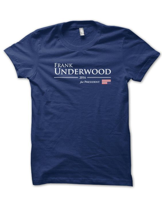House of Cards Frank Underwood for President 2016