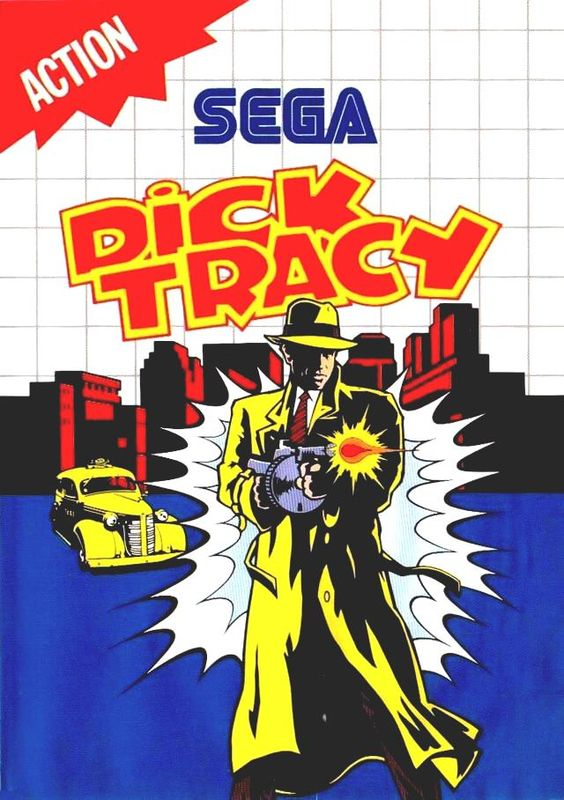 dick tracy #sega master system from $9.95