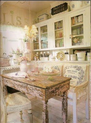 What a great looking kitchen so vintage style