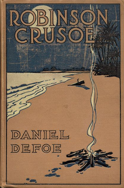 Robinson Crusoe by Daniel Defoe. This ought to be compulsory reading. There is a parallel theme, if you know what to look for.....