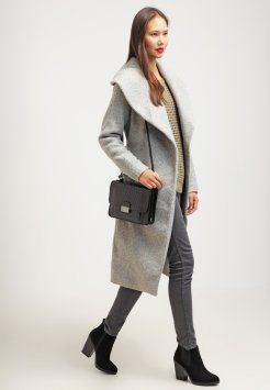 ONLY - ONLSCOOP - Cappotto classico - light grey melange