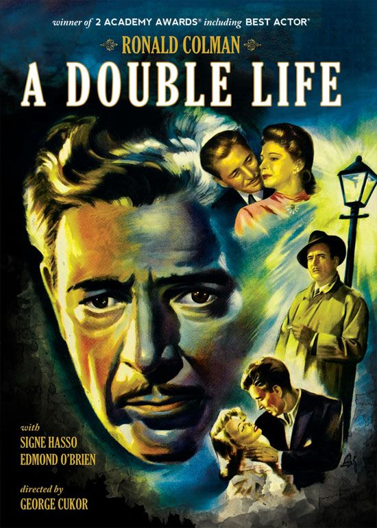 Image result for ronald colman a double life 1947