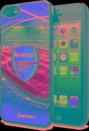 Arsenal F.C. iPhone 5 / 5S / 5SE Hard Case 3D
