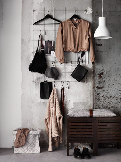 Höstgarderob på display