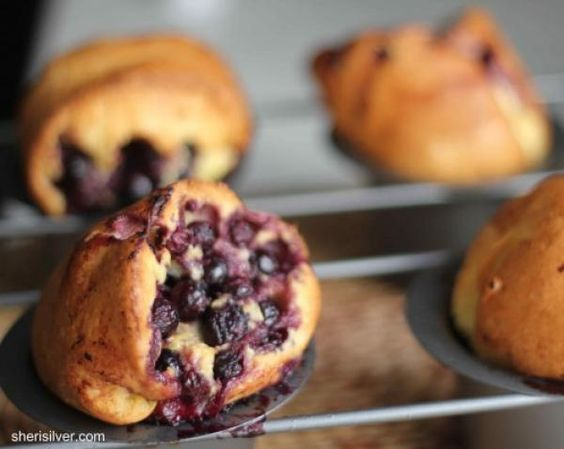 blueberry blueberry bliss blueberry hill popovers baking popovers ...
