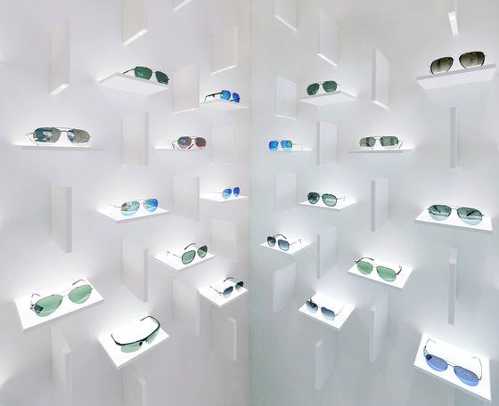 Bolon Eyewear by pfarré lighting design | Shop interiors