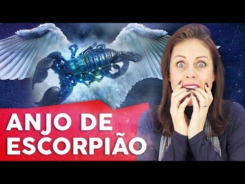 Escorpiao O Anjo Da Guarda De Cada Signo Youtube Anjo Da