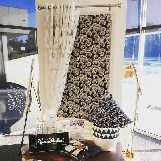 Dollar Curtains & Blinds Florence Broadhurst Collection with Roman ...